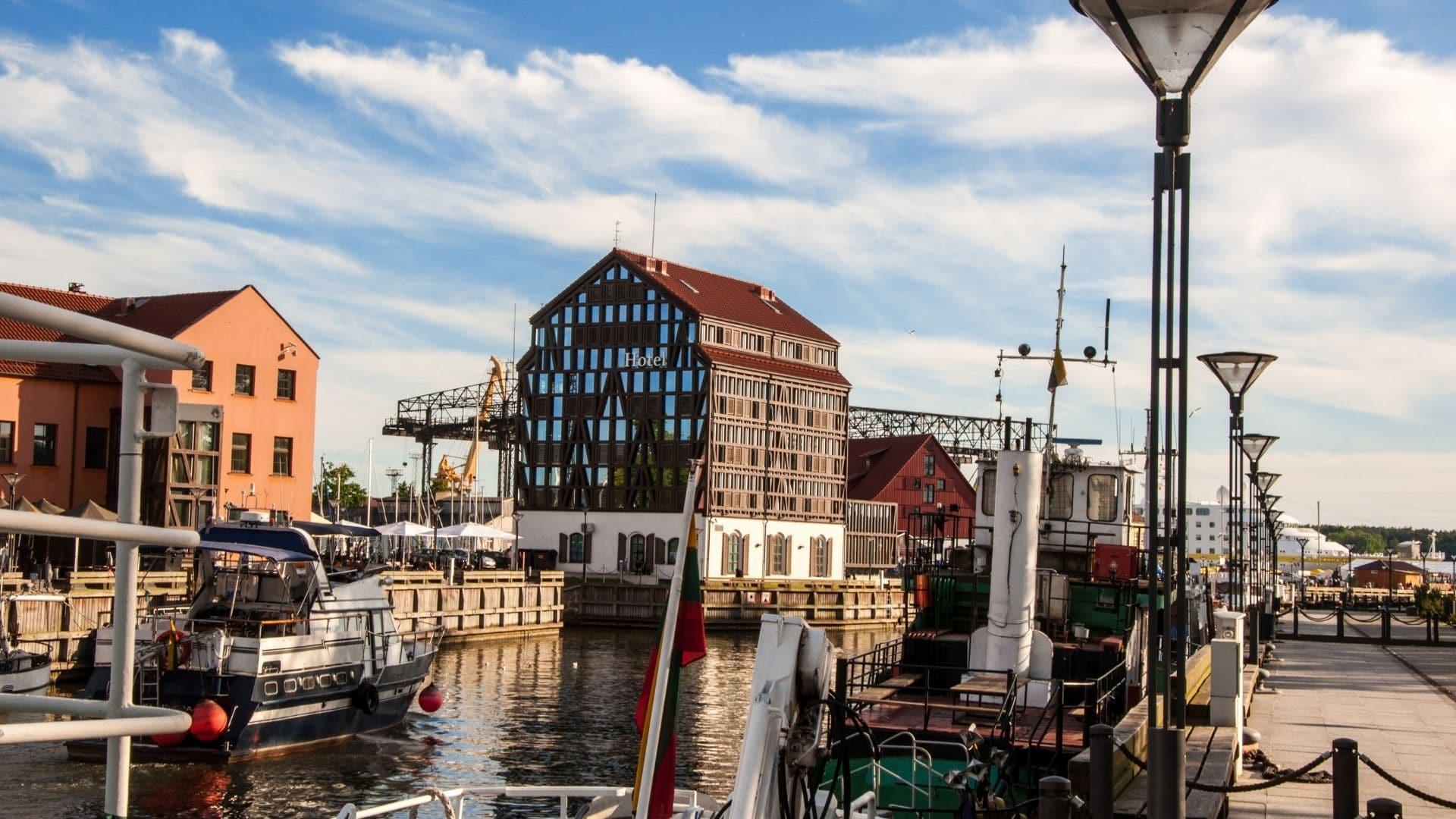 Klaipeda cruise port - uncommon cruise ports in Europe