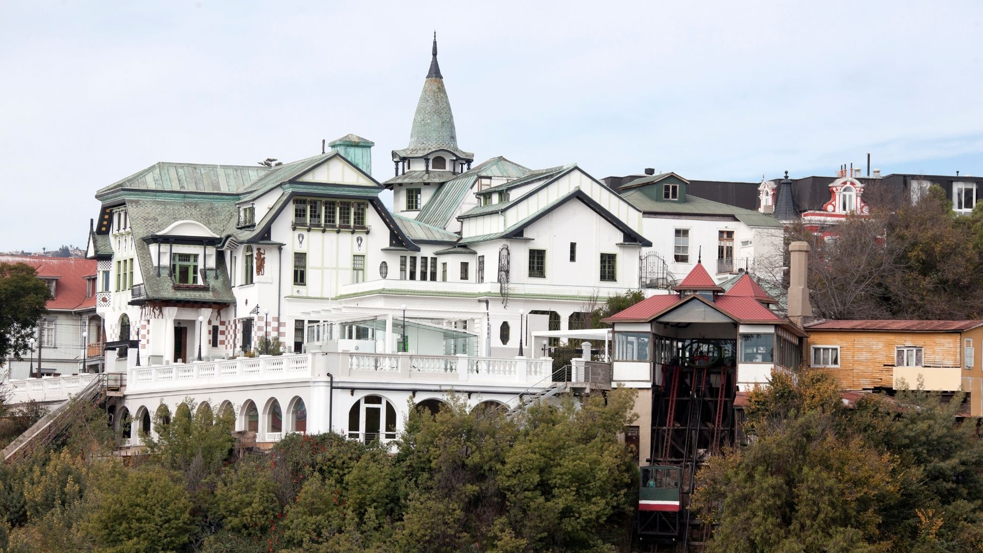 Baburizza Palace - Valparaiso attractions