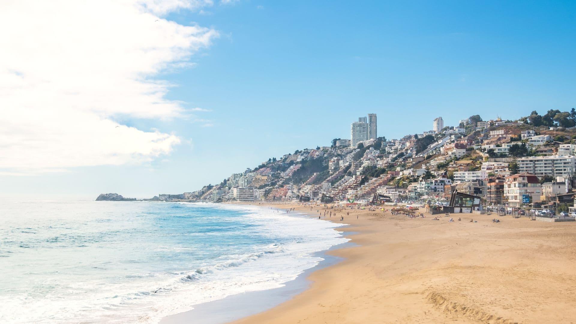 Renaca beach Valparaiso