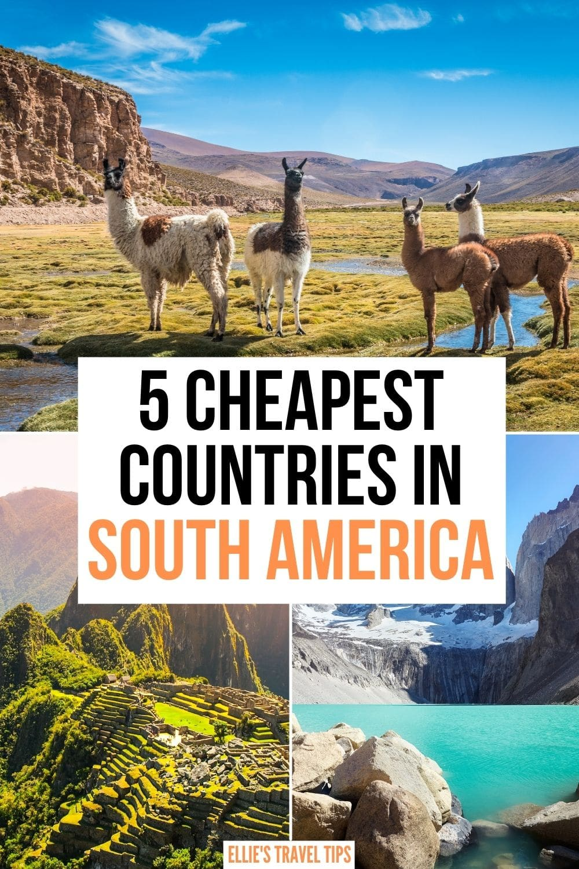 cheap south america