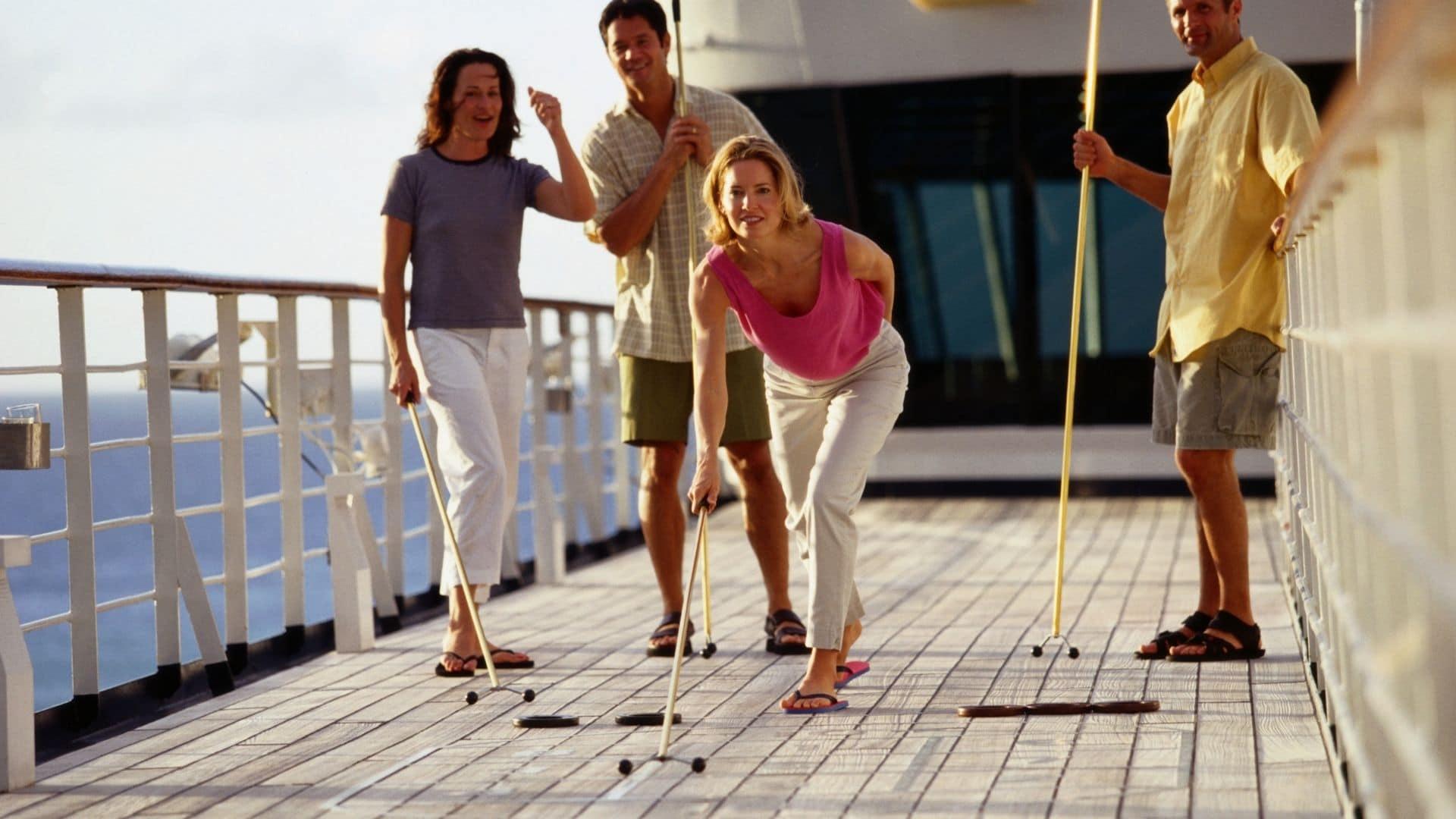 cruise shuffleboard