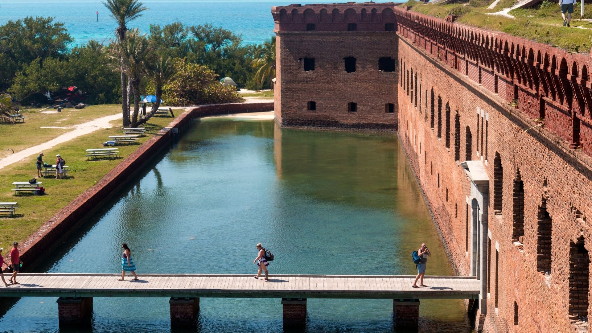 dry tortugas camping
