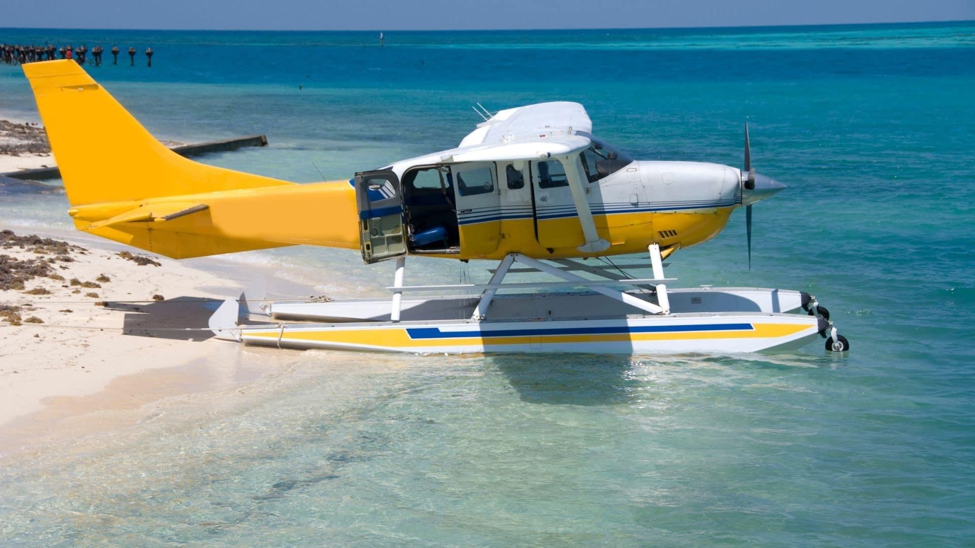 Sea plane to Dry Tortugas