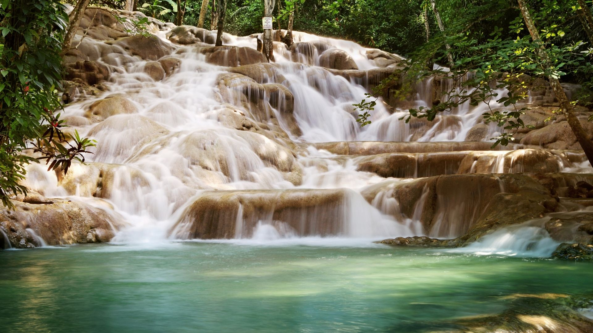 Dunns River and Falls attractions in Jamaica