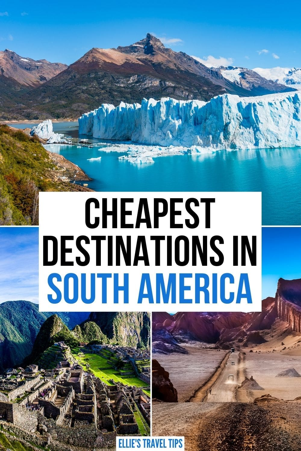 cheapest traveling places South America