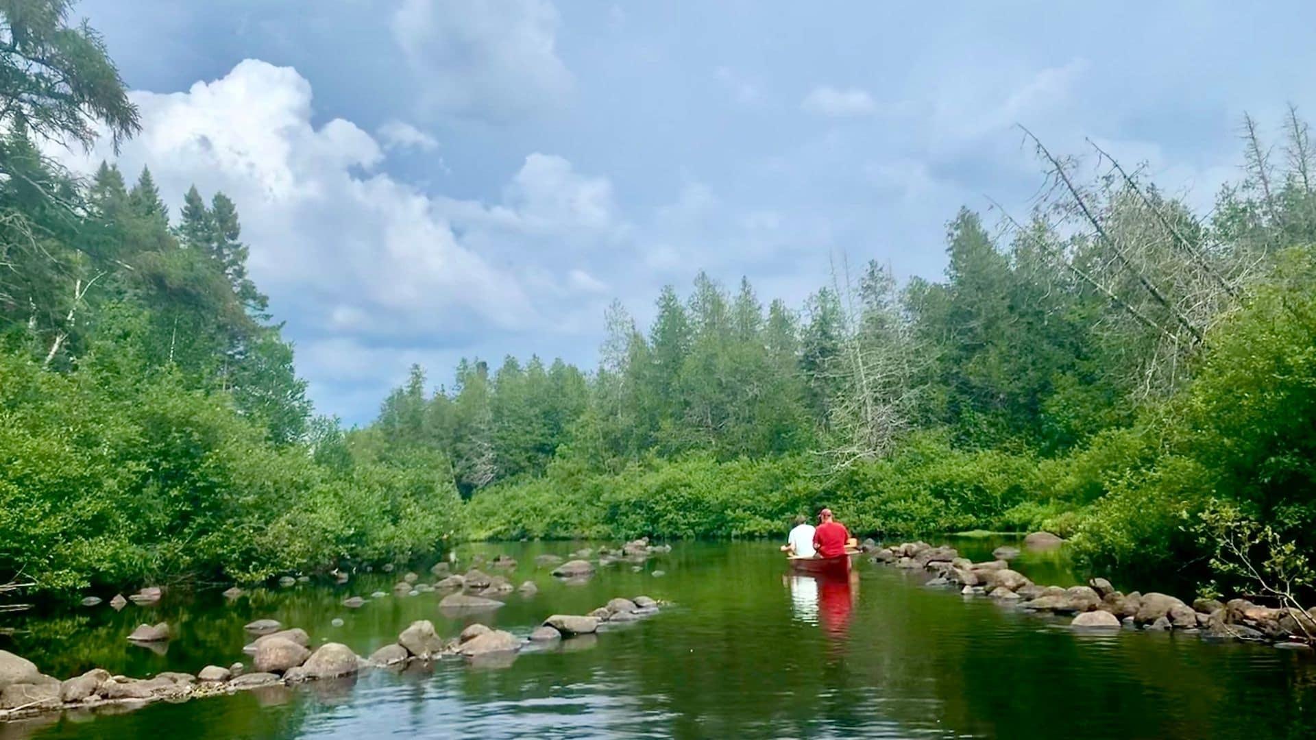 the Upper Brule kayak wisconsin
