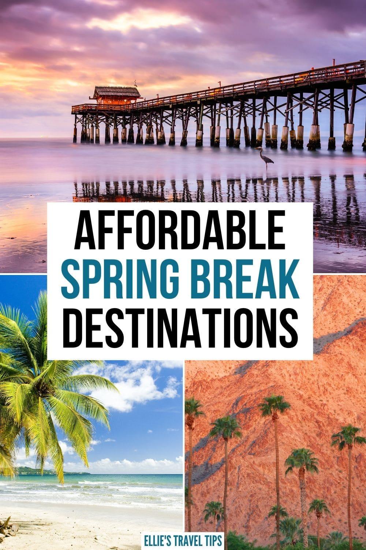 affordable spring break