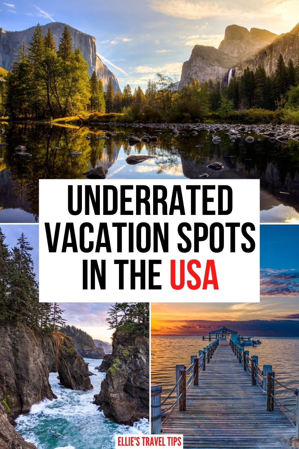 underrated vacations USA