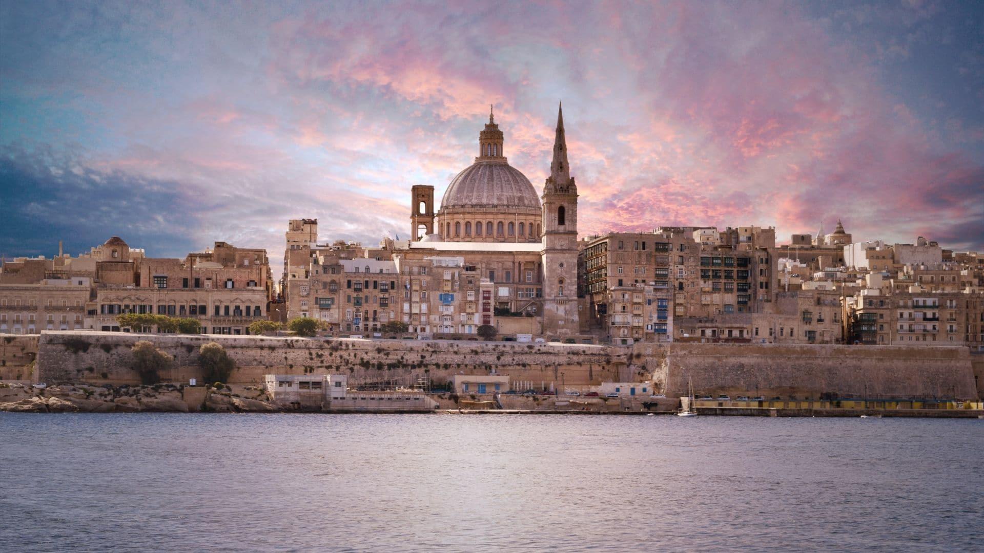 Valletta Malta cruise ports in Europe